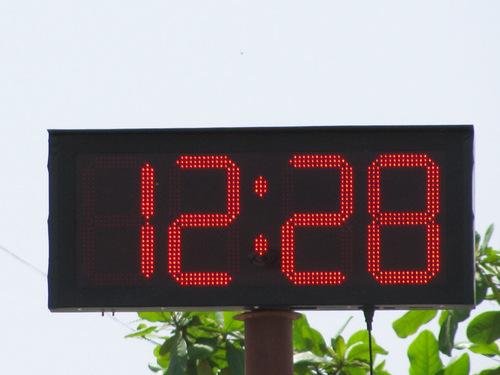 Gps Base Digital Clock