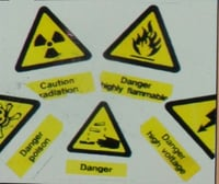 Safety Sign Boards / Safety Stickers
