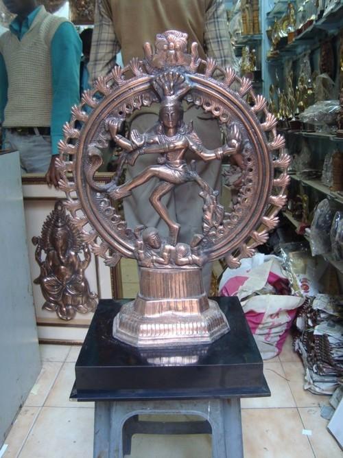 Copper Plating Natraj Idol