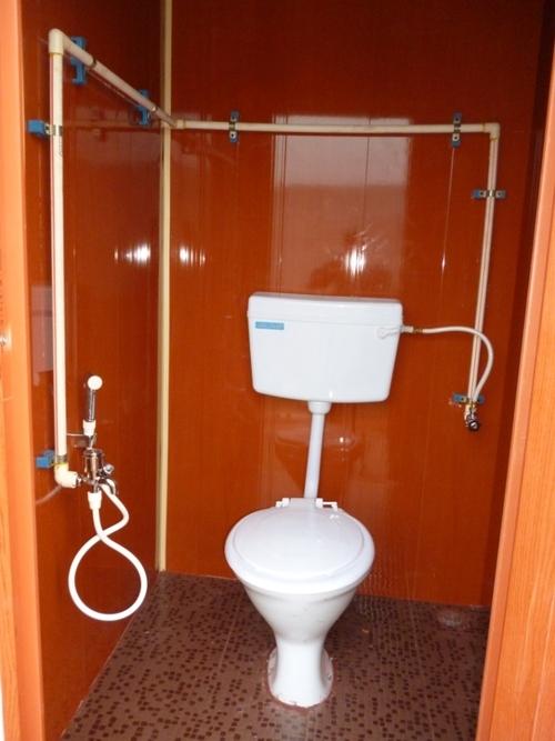Single Toilet Block.