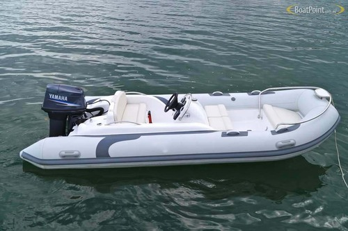 Liya 4.3m military inflatable boat with outboard motor