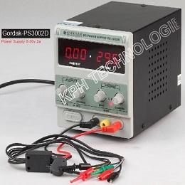 0-30V 2A Power Supply (Gordak-PS3002D)