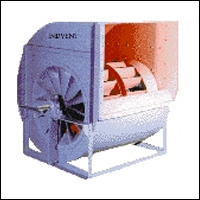 Backward Curved Centrifugal Blower in  10-Sector