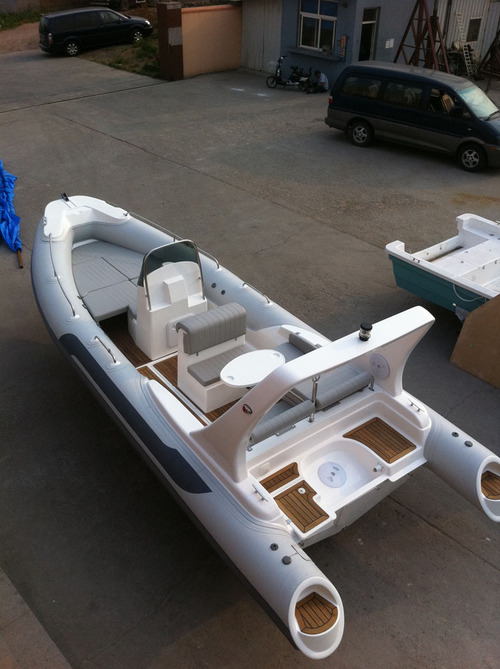Liya 5.8m Inflatable Boat China With Engine