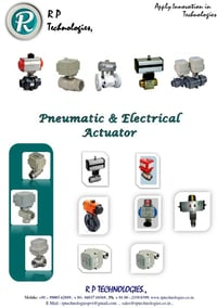 Pneumatic and Electrical Motorized Actuator with Timer