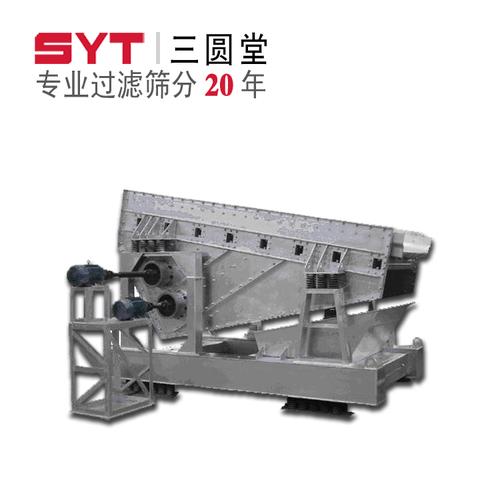SZR Series Thermal Mineral Metallurgy Linear Vibrating Screen