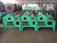 Three Rollers Cotton Waste Recycling Machine