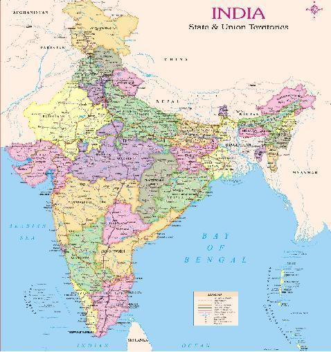 India map in new delhi delhi india inox spatial data services india map in uttam nagar gumiabroncs Gallery