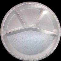 12\\342\\200\\235 Round 4 Compartment Disposable Plate