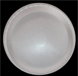 "12"" Round Disposable Plate"