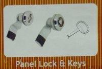 Panel Lock And Keys