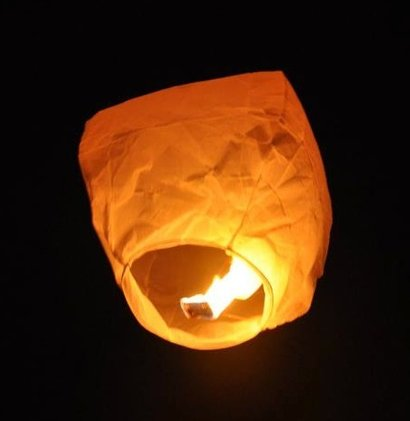 Sky Lanterns (100% Made From Rice Paper And Fire Resistant)
