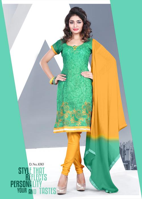Skin Friendly Chanderi Salwar Suit