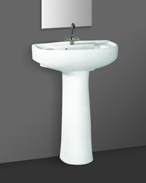 Modern style pedestal wash basin in morbi gujarat swede for Modern wash basin india