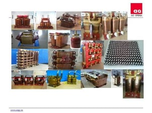 Dry Type Transformers And Inductors