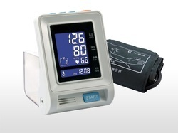 Automatic Blood Pressure Monitor With Lcd Display