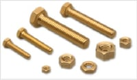 Brass Hex Bolts and Nuts