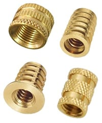 Brass Hex Full and Lock Nuts