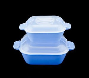 Microwavable Container Set Of 2 (500 ml+1000 ml)