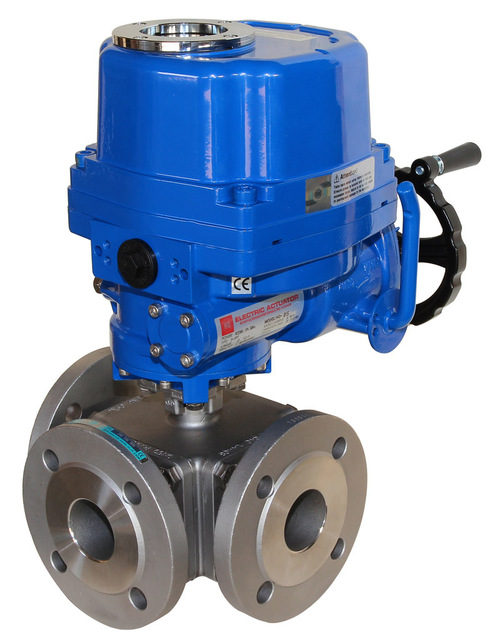 Banjo Electric 3 Way Directional Ball Valve: Electric Operated Ball Valve In Lich, Hessen