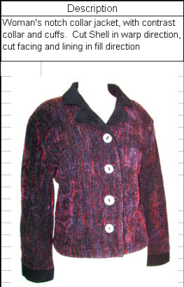 Woman's Notch Collar Jacket