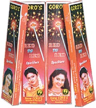 7 Cm Red to Red Sparklers (CS 020)