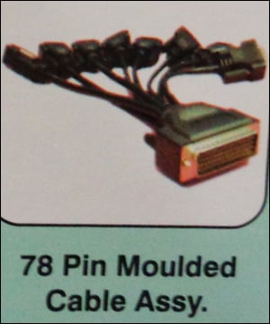 78 Pin Moulded Cable Assembly