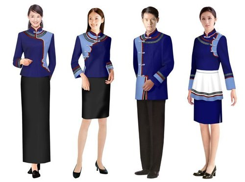Resort hotel uniforms in faridabad haryana gulabo chhap for Hotel design jersey