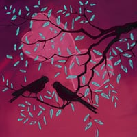 Love Birds Paintings