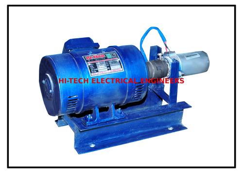 DC Motor With Techo Generator