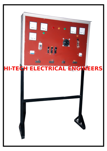 Panel For Electrical Machine Trainer