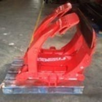Used Paper Roll Clamp Attachment