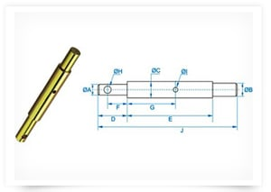Inter Changeable Implement Mounting Pin