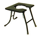 Commode Stool Mild Steel Top Square