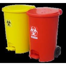 2 Wheeled Dustbin 55 Liters