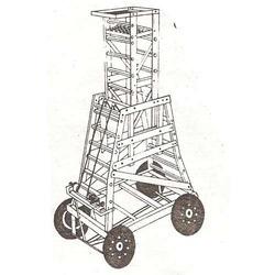 Wheeled Tower Ladder