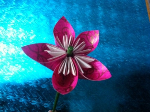 Origami Kusudama Handmade Eco-Friendly Durable Paper Flower