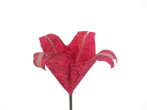 Origami Lilly Flower