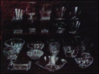 Crystal Cup And Glass