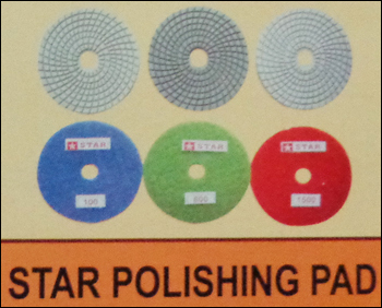 Star Polishing Pads