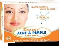 Erasers Acne And Pimple Care Soap