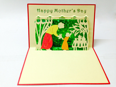 Mother's Day 3D Pop Up Card