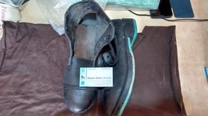 Safety Leather Shoes for Industrial Work