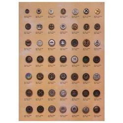 Metal Designer Buttons
