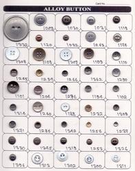 Metal Fancy Design Button