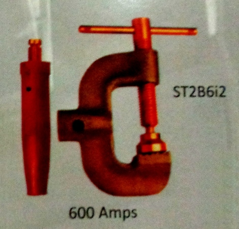 ST 2 Series 600 Amps Earth and Ground Clamp (ST286i2) in  Chandni Chowk
