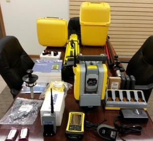 Trimble RTS-655 and LM80 Robotic Total Station