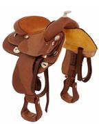 Western Leather Horse Saddle