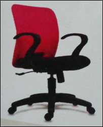 Dual Color Revolving Office Chair