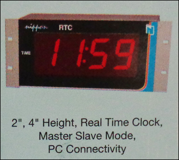 Real Time Clock Large Height Indicator